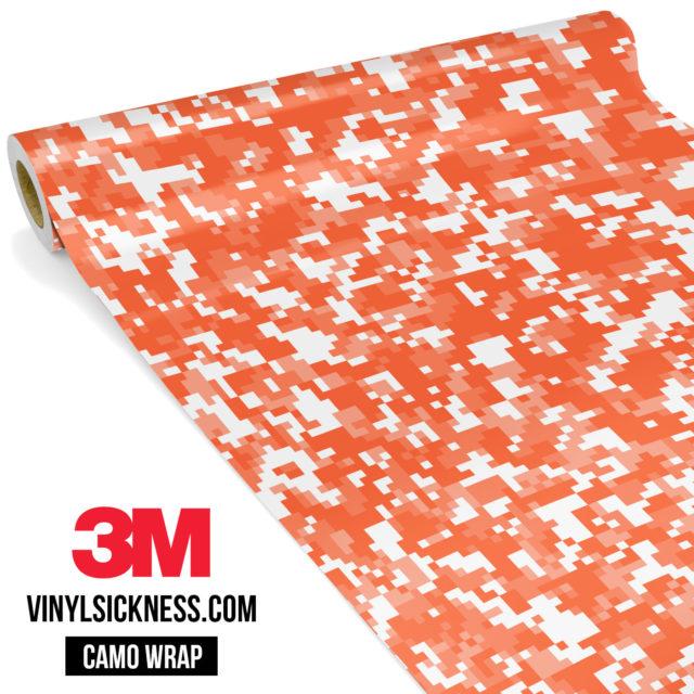 Apricot Digital Camo Small Vinyl Wrap Main