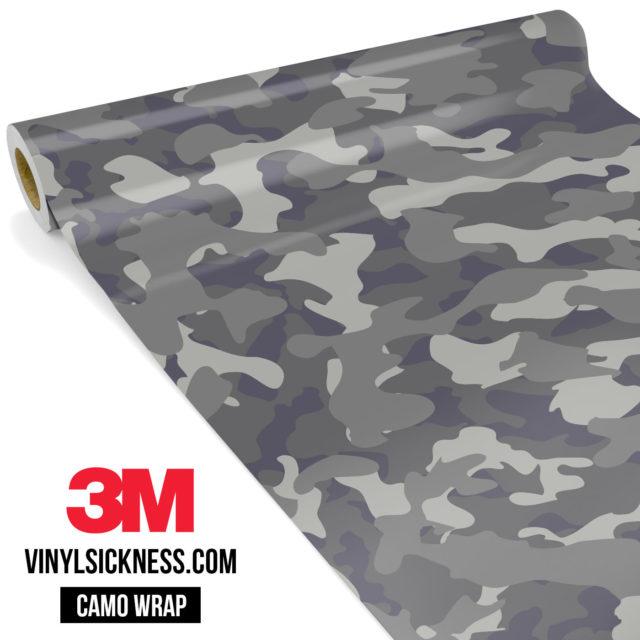Artichoke Laurel Camo Regular Vinyl Wrap Main