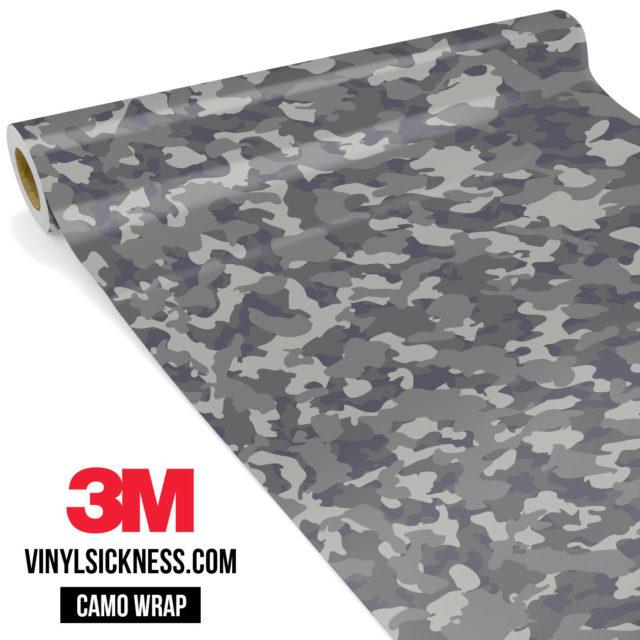 Artichoke Laurel Camo Small Vinyl Wrap Main