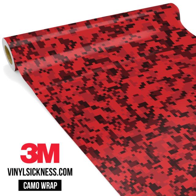 Barn Red Digital Small Vinyl Wrap Main