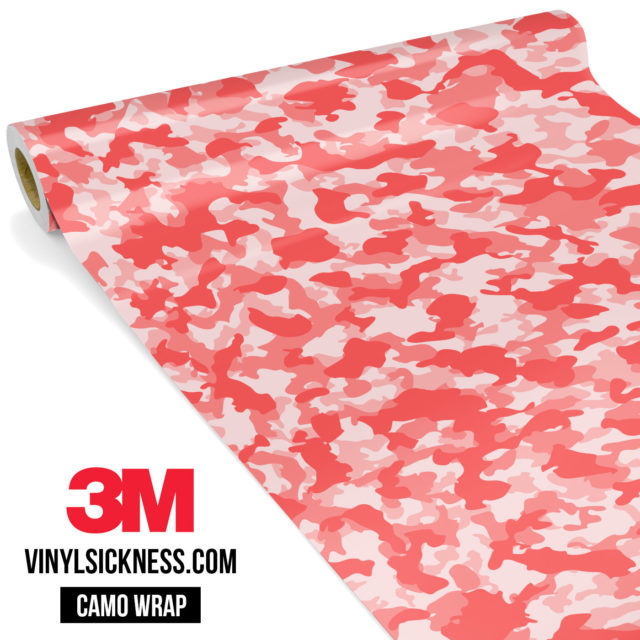 Brick Rose Camo Small Vinyl Wrap Main