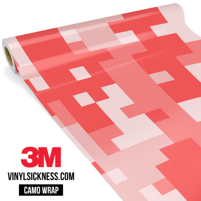 Brick Rose Digital Camo Large Vinyl Wrap Main