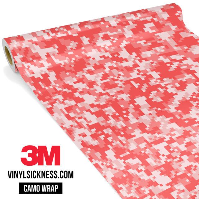 Brick Rose Digital Camo Small Vinyl Wrap Main