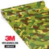Brown Crocodile Camo Regular Vinyl Wrap Main