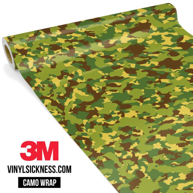 Brown Crocodile Camo Small Vinyl Wrap Main