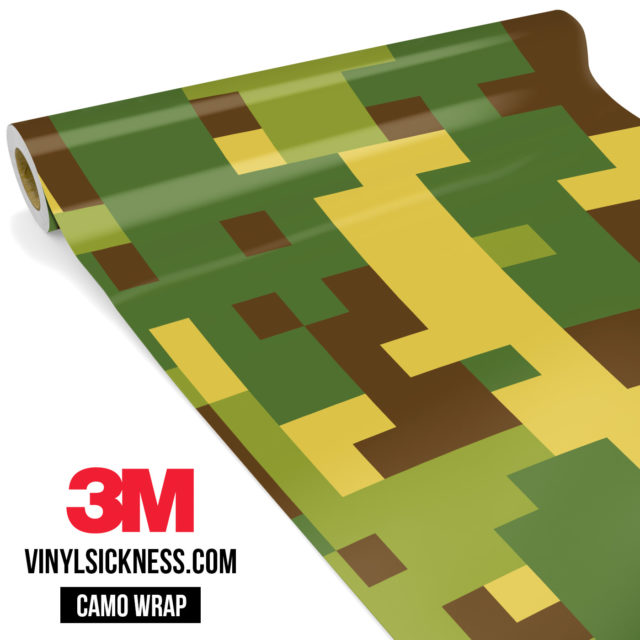 Brown Crocodile Digital Camo Large Vinyl Wrap Main
