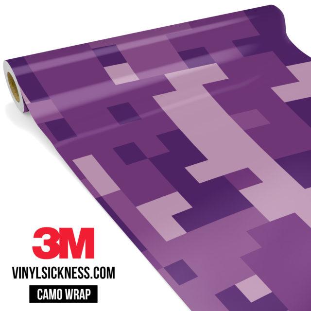 Byzantine Purple Digital Large Vinyl Wrap Main