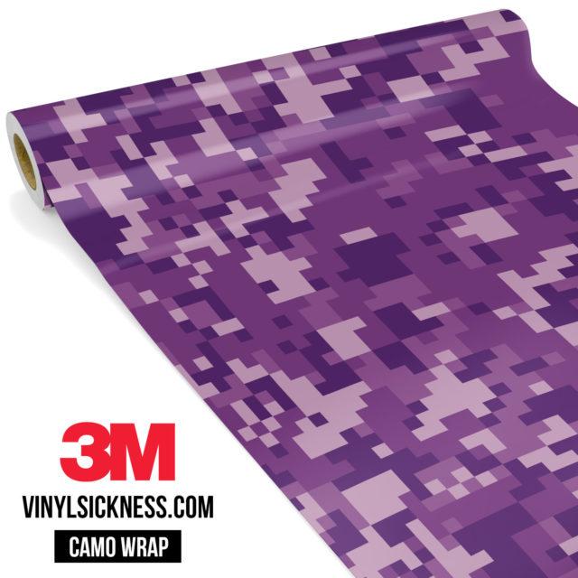 Byzantine Purple Digital Regular Vinyl Wrap Main