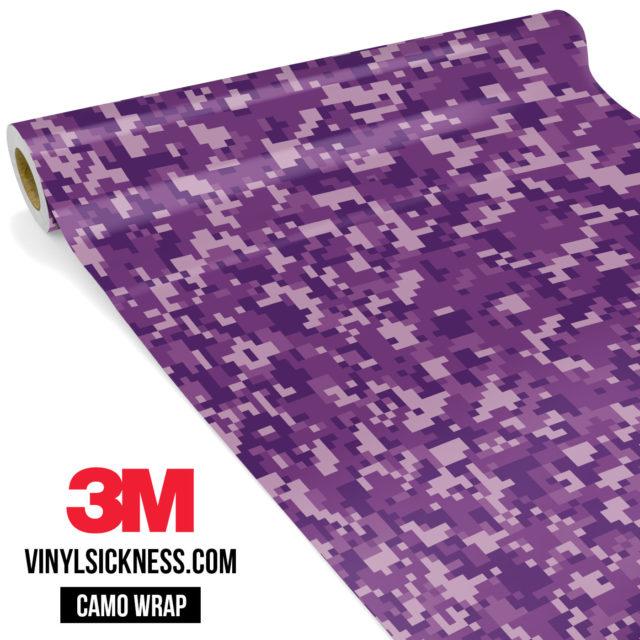 Byzantine Purple Digital Small Vinyl Wrap Main