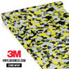 Canary Steel Camo Small Vinyl Wrap Main