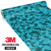 Carolina Pine Camo Small Vinyl Wrap Main