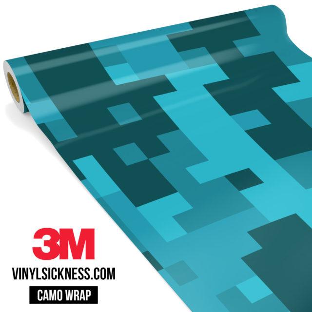Carolina Pine Digital Camo Large Vinyl Wrap Main