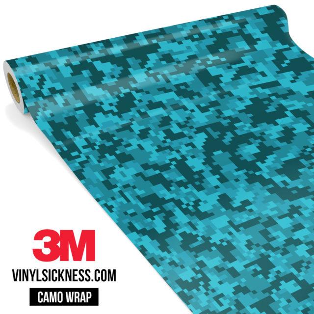 Carolina Pine Digital Camo Small Vinyl Wrap Main