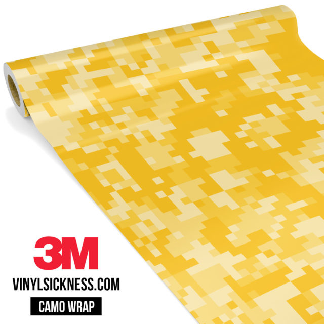 Dandelion Digital Camo Regular Vinyl Wrap Main