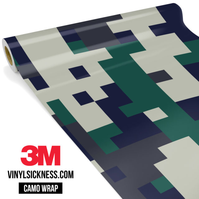 Dark Pine Digital Camo Large Vinyl Wrap Main