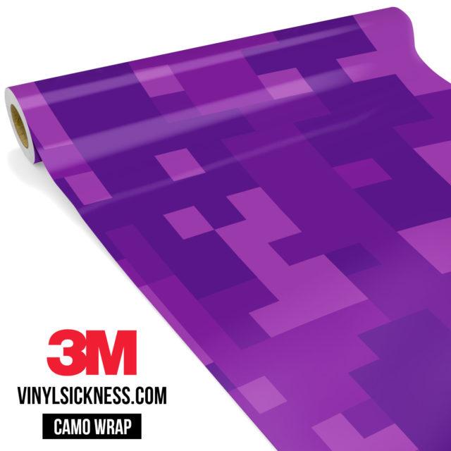 Electric Purple Digital Large Vinyl Wrap Main