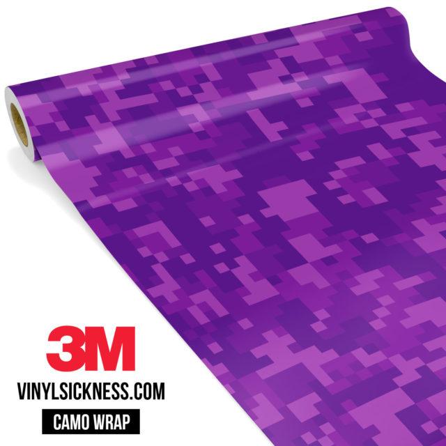Electric Purple Digital Regular Vinyl Wrap Main