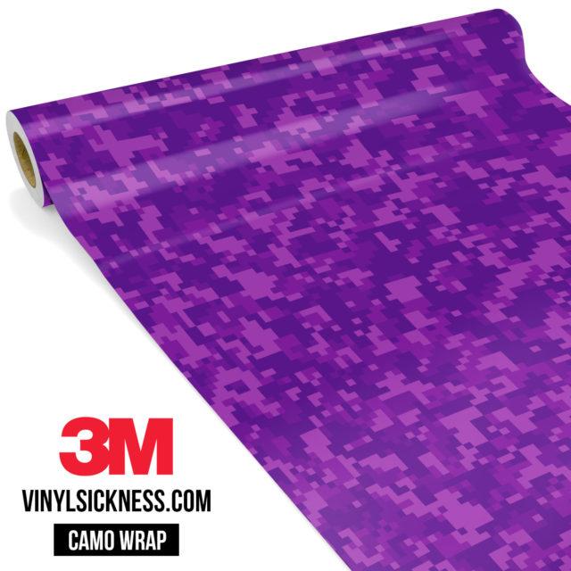 Electric Purple Digital Small Vinyl Wrap Main