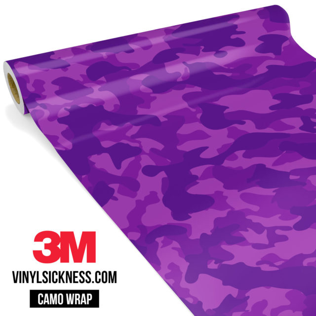 Electric Purple Regular Vinyl Wrap Main