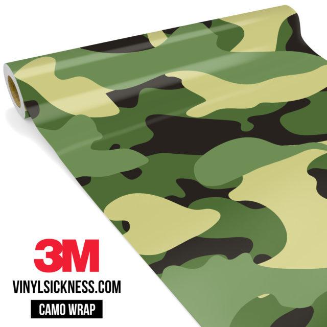 Fern Sage Camo Large Vinyl Wrap Main