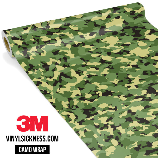Fern Sage Camo Small Vinyl Wrap Main