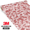 Flamingo Rose Camo Small Vinyl Wrap Main