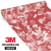 French Rose Digital Camo Regular Vinyl Wrap Main