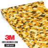 Golden Rod Camo Small Vinyl Wrap Main