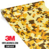 Golden Rod Digital Camo Regular Vinyl Wrap Main