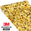 Golden Rod Digital Camo Small Vinyl Wrap Main
