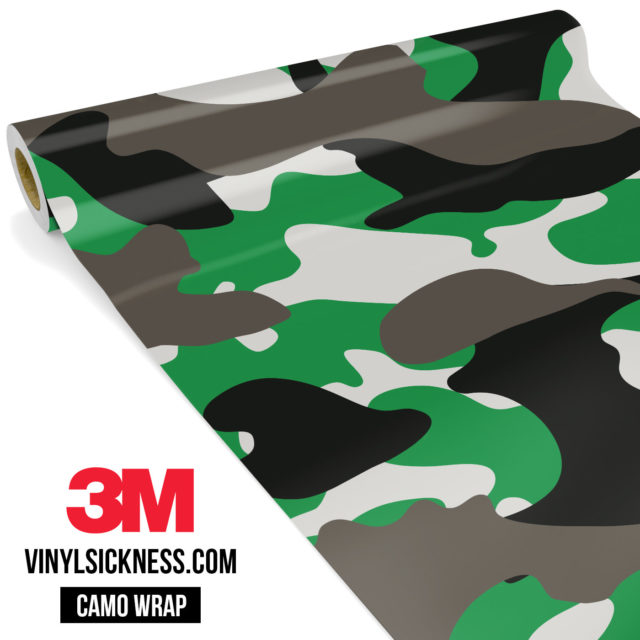 Green Ash Camo Large Vinyl Wrap Main