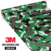 Green Ash Camo Regular Vinyl Wrap Main