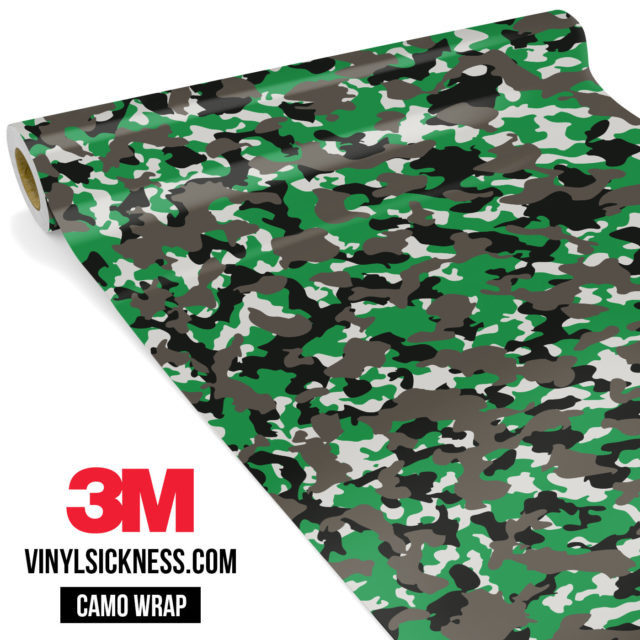 Green Ash Camo Small Vinyl Wrap Main