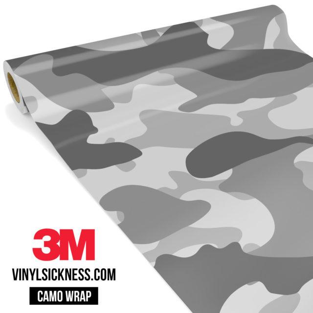 Grey Gainsboro Camo Large Vinyl Wrap Main