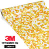 Honey Yellow Digital Camo Small Vinyl Wrap Main