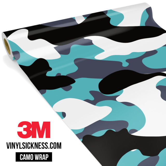 Hunter Mint Camo Large Vinyl Wrap Main
