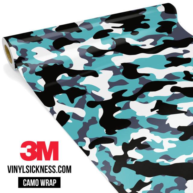 Hunter Mint Camo Regular Vinyl Wrap Main