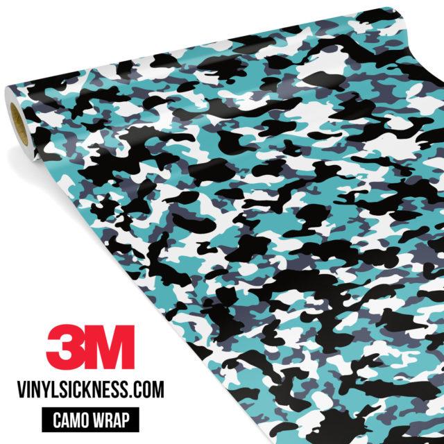 Hunter Mint Camo Small Vinyl Wrap Main