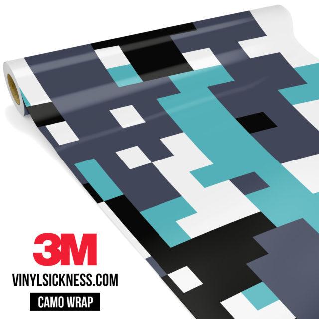 Hunter Mint Digital Camo Large Vinyl Wrap Main