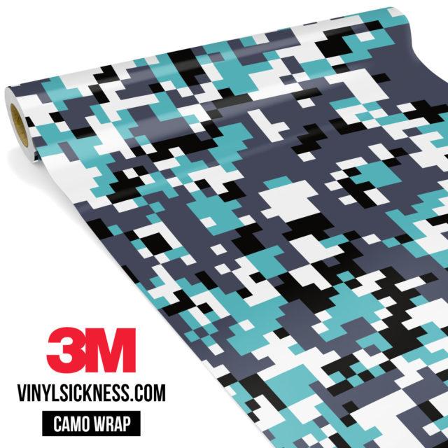 Hunter Mint Digital Camo Regular Vinyl Wrap Main