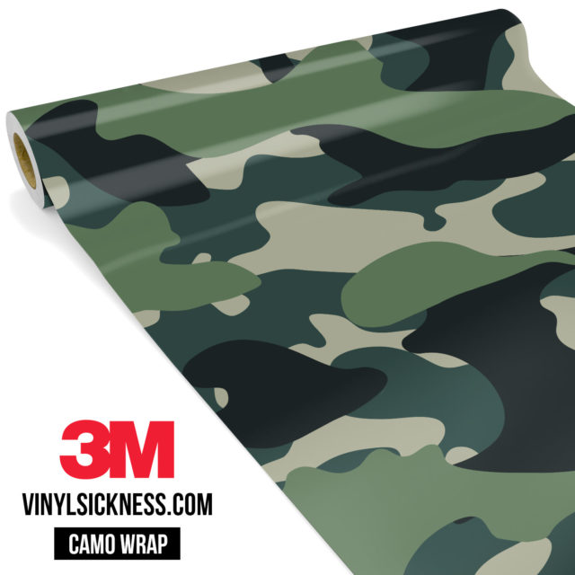 Hunter Moss Camo Large Vinyl Wrap Main