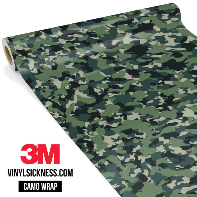 Hunter Moss Camo Small Vinyl Wrap Main