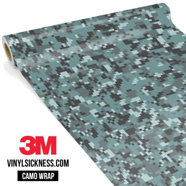 Hunter Stone Digital Camo Small Vinyl Wrap Main