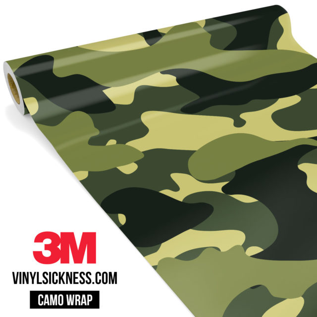 Intense Jungle Camo Large Vinyl Wrap Main