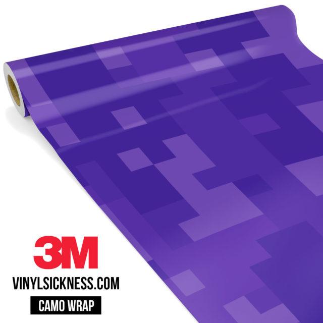 Intense Purple Digital Large Vinyl Wrap Main