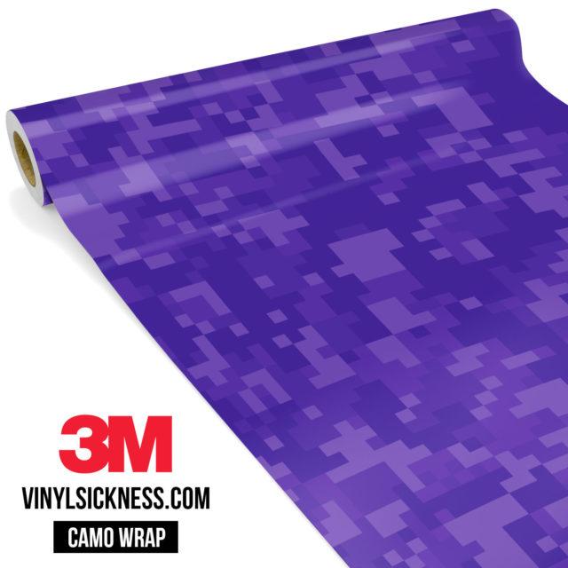 Intense Purple Digital Regular Vinyl Wrap Main