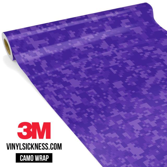 Intense Purple Digital Small Vinyl Wrap Main