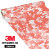 Intense Salmon Digital Camo Regular Vinyl Wrap Main