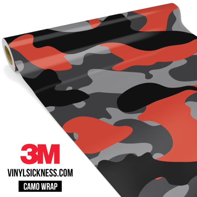 Iron Orange Camo Large Vinyl Wrap Main
