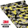 Iron Yellow Camo Regular Vinyl Wrap Main